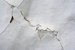 Sprünge im Gips - Schmutz-Beschaffenheit lizenzfreies stockbild