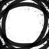 Spår av gummihjul Royaltyfri Bild