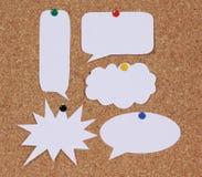 Sprache-Blasen-Collage Lizenzfreies Stockbild
