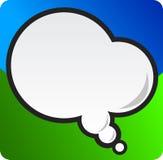 Sprache-Luftblase Lizenzfreie Stockbilder