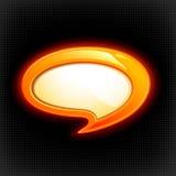 Sprache-Luftblase Stockfotografie