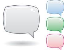 Sprache-Luftblasen lizenzfreie abbildung