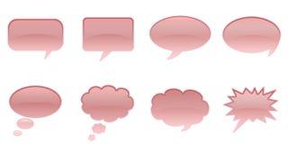 Sprache-Luftblasen Stockbilder