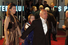 Sprache-Premiere des Königs des Sir-Ben Kingsley At The Lizenzfreie Stockfotografie