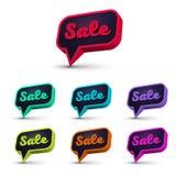 Spracheblase sale-02 Lizenzfreie Stockfotografie