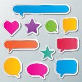Spracheblasen Stockbilder