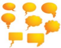 Spracheluftblase Stockbild