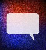 Spracheluftblasenhintergrund stock abbildung