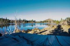 Sprague湖 图库摄影