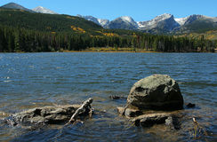 Sprague Lake. Near Estes Park, Colorado; Rocky Mountain National Park Royalty Free Stock Photo