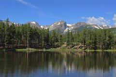 Sprague Lake Fotografia Stock