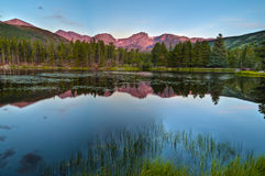 Sprague Lake Colorado Royalty Free Stock Image