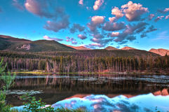Sprague Lake Colorado Stock Photo