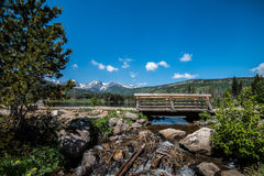 Sprague Lake, Colorado Royalty-vrije Stock Foto