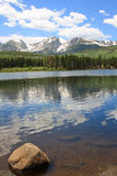 Sprague Lake in Colorado Stock Photo