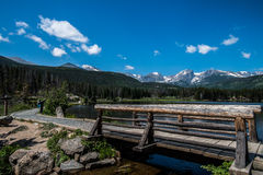 Sprague Lake, Colorado Stock Photo