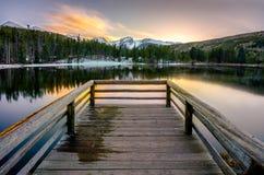 Sprague Lake RMNP, Colorado Fotos de Stock