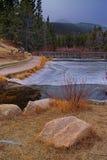 Sprague Lake in Winter