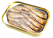 Sprat fish canned Royalty Free Stock Photography