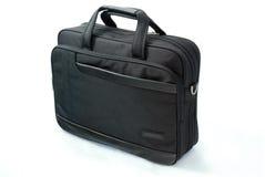 sprawa czarnego walizka odizolowana obraz stock