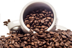 Sprawa kawa Zdjęcia Stock