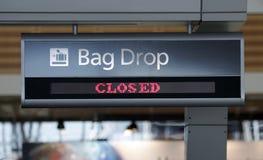 sprawdź portów lotniczych Zdjęcia Royalty Free