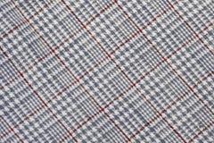 sprawdzać bawełniana tkanina Zdjęcie Royalty Free
