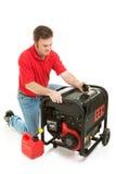 sprawdzać katastrofy generatoru przygotowanie obrazy royalty free