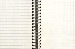 Sprawdzać stara papierowa tekstura lub tło Zdjęcie Stock