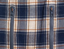 sprawdzać sukienni suwaczki Zdjęcie Stock
