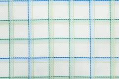Sprawdzać tkanina wzoru zakończenie up Zdjęcie Royalty Free