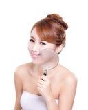 Sprawdzać zdrowie twój skórę Obraz Royalty Free