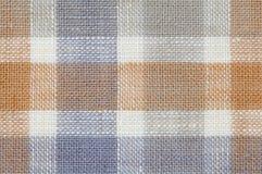 Sprawdzać tkanina wzoru tekstura Fotografia Stock