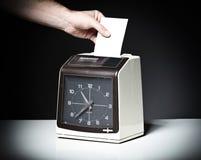 Sprawdzać zegar Fotografia Royalty Free