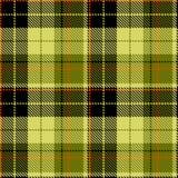 Sprawdza zielonego czarnego czerwonego tkaniny textil ilustracji