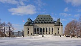 Sprawiedliwość budynek w gothic odrodzenie stylu Ottawa zdjęcie stock
