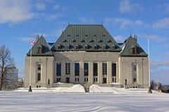 Sprawiedliwość budynek w gothic odrodzenie stylu Ottawa obraz stock