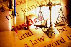 Sprawiedliwość Fotografia Stock