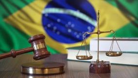 Sprawiedliwość dla Brazylia praw w brazylijczyka sądzie zbiory