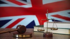 Sprawiedliwość dla Brytania praw w Brytyjski sądzie zbiory