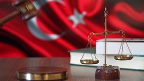 Sprawiedliwość dla Indyczych praw w turecczyzna sądzie zbiory wideo