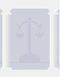 sprawiedliwość prawa Fotografia Stock