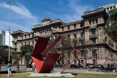 Sprawiedliwości Pałac Budynku Sao Paulo Brazylia Fotografia Stock