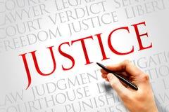 sprawiedliwość Zdjęcie Royalty Free