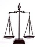 Sprawiedliwości równowaga Fotografia Royalty Free