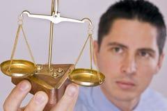 sprawiedliwości skala Obraz Stock