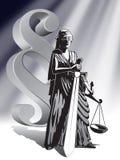 sprawiedliwości Fotografia Royalty Free