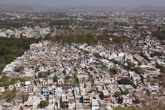 sprawl города стоковое изображение