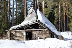 Old small hut Stock Photos