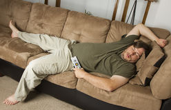 Sprawled out Stock Photo